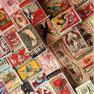Retro Vintage Matchboxes by flashman