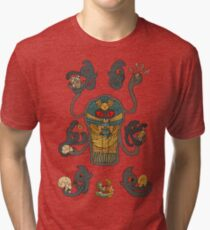 Cofagrigus & Yamask Tri-blend T-Shirt