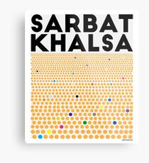 Sarbat Khalsa: Grand Gathering of Sikhs Metal Print