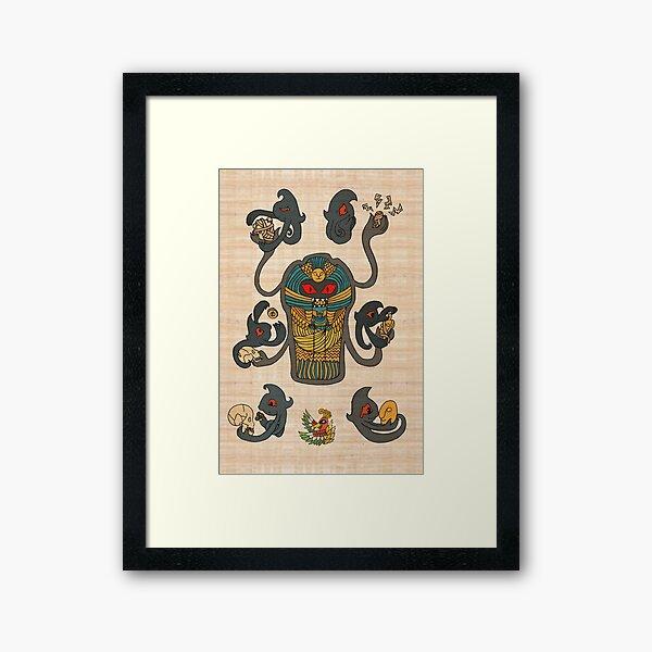 Cofagrigus & Yamask Framed Art Print