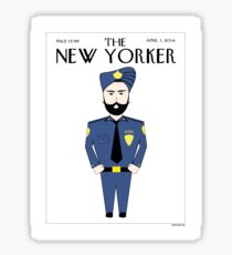 Sikh New Yorker Sticker