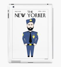 Sikh New Yorker iPad Case/Skin