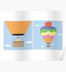 Sikh Air Balloon Poster