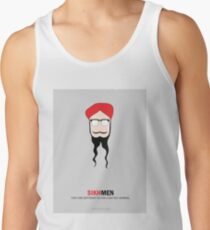 Sikh Men: Making you feel Normal Tank Top