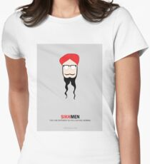 Sikh Men: Making you feel Normal Women's Fitted T-Shirt