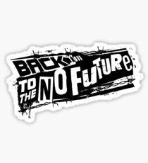 Volver al No futuro Pegatina