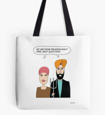 American Gothic: We are from right here. Tote Bag