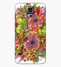Berries & Proteas Case/Skin for Samsung Galaxy
