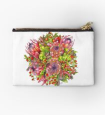 Berries & Proteas Zipper Pouch