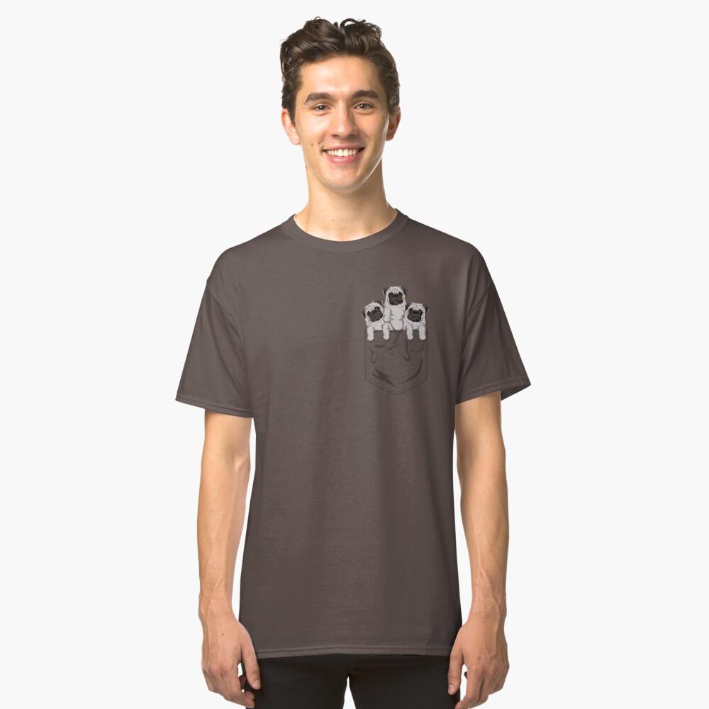 Pocket Pug Camiseta clásica