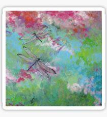 Dragonfly Dream Sticker