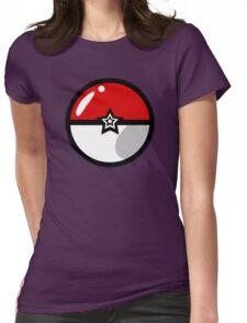 PokeballZ Womens Fitted T-Shirt