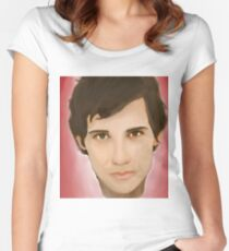 Rudy Cooper, brian moser, christian camargo Women's Fitted Scoop T-Shirt
