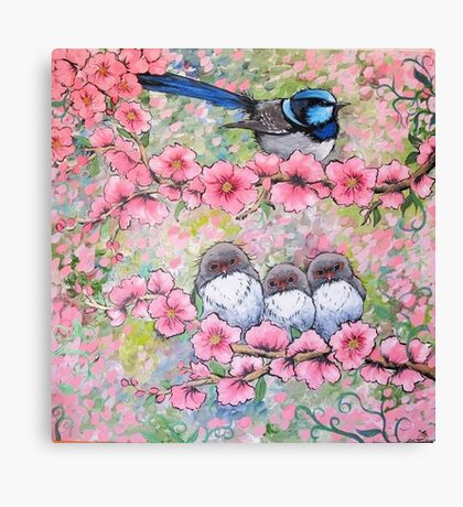 Blossom Family Canvas Print