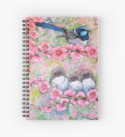 Blossom Family Spiral Notebook