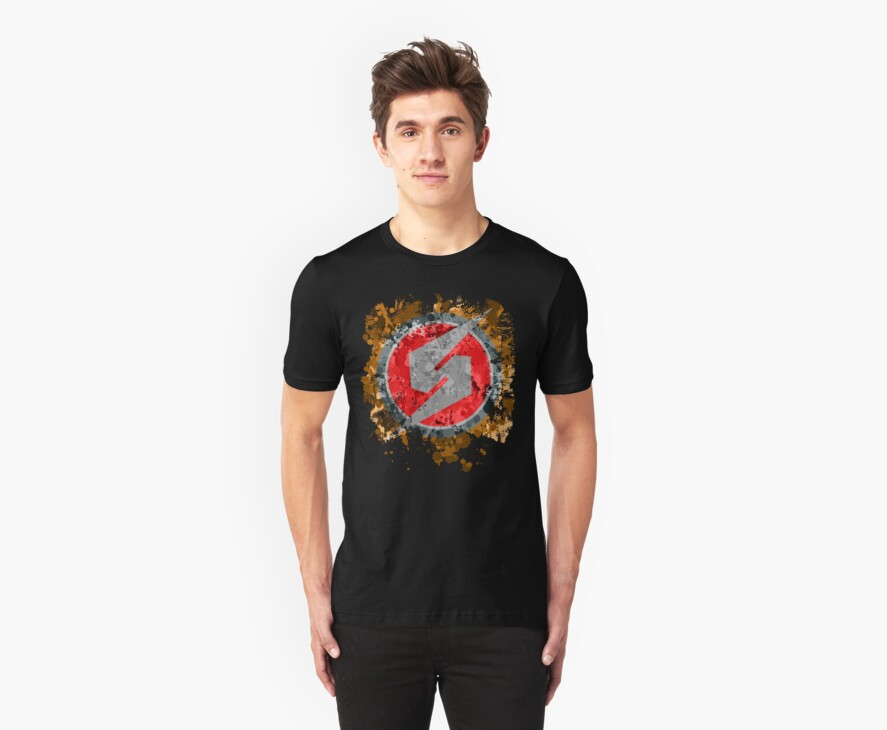 Metroid Symbol Splatter by Colossal