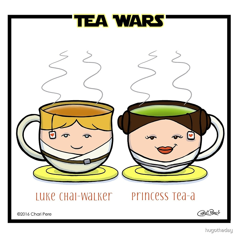 Tea Wars by hugotheday