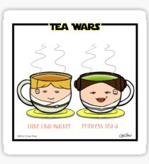 Tea Wars Sticker