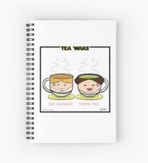 Tea Wars Spiral Notebook