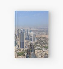 Photography of tall skyscrapers in Dubai. United Arab Emirates. Hardcover Journal