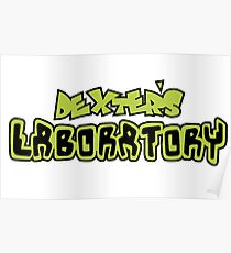 Dexters Labratory Logo Poster