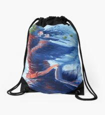 Wintergirl grog Drawstring Bag