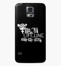 Trans Lifeline design by Iria Villalobos Case/Skin for Samsung Galaxy