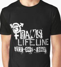 Trans Lifeline design by Iria Villalobos Graphic T-Shirt
