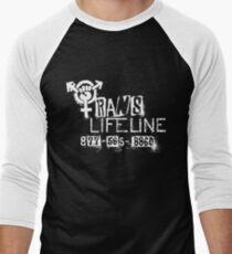 Trans Lifeline design by Iria Villalobos Men's Baseball ¾ T-Shirt
