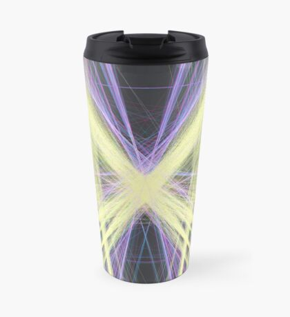 Linify Yellow butterfly Travel Mug