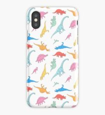 Dino Doodles iPhone Case/Skin