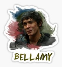 Bellamy - The 100 Sticker