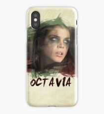 Octavia - The 100 - Brush iPhone Case
