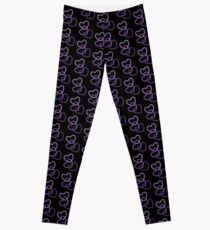 Trans Lifeline Hearts Leggings