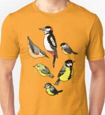 Six little birds Unisex T-Shirt