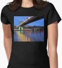 Christmas Bridge Women's Fitted T-Shirt