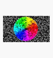 Colour wheel (uncut) Photographic Print