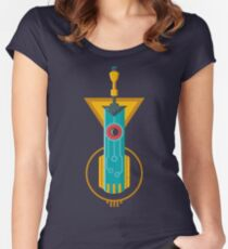 Sword Voice Women's Fitted Scoop T-Shirt