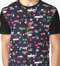 Confetti - Navy Graphic T-Shirt