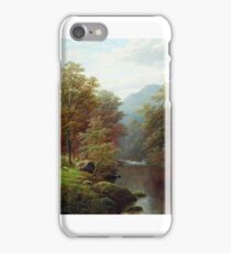 William Mellor - On the Rothay, Westmoreland, near Ambleside iPhone Case/Skin