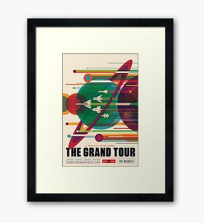 The Grand Tour Framed Print