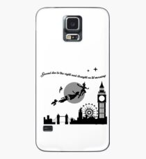Second Star Peter Pan Case/Skin for Samsung Galaxy
