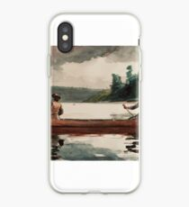 Winslow Homer - Duck hunting iPhone Case