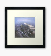 London, Looking West from the Shard Framed Print