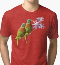 Rainbow lorikeet of Australia 4 Tri-blend T-Shirt