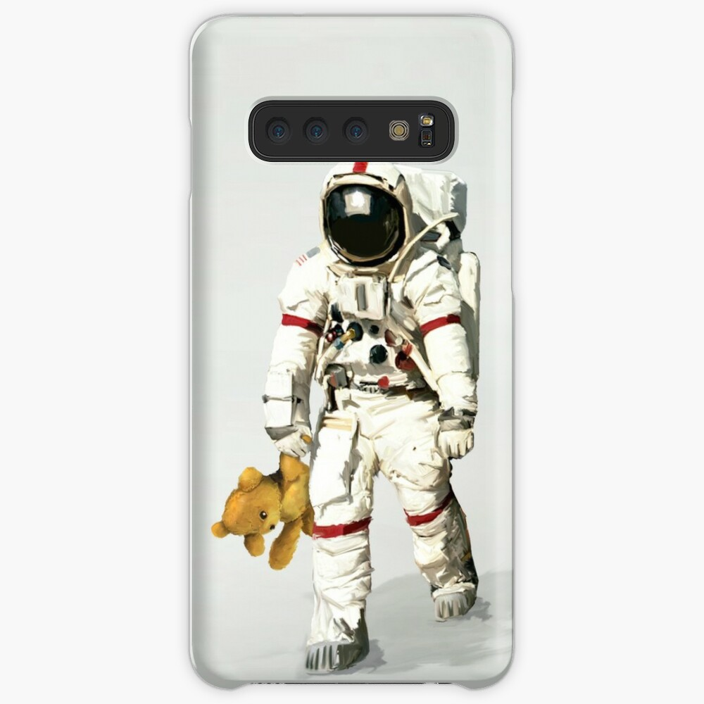 Space can be lonely Case & Skin for Samsung Galaxy