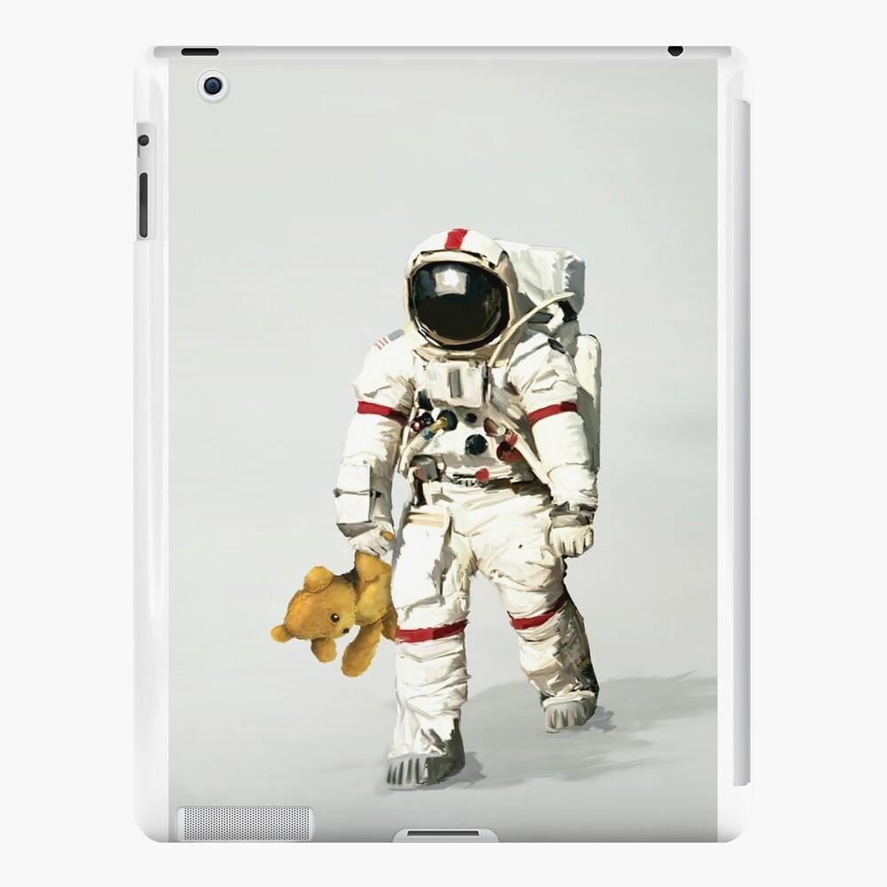 El espacio puede ser solitario Vinilos y fundas para iPad