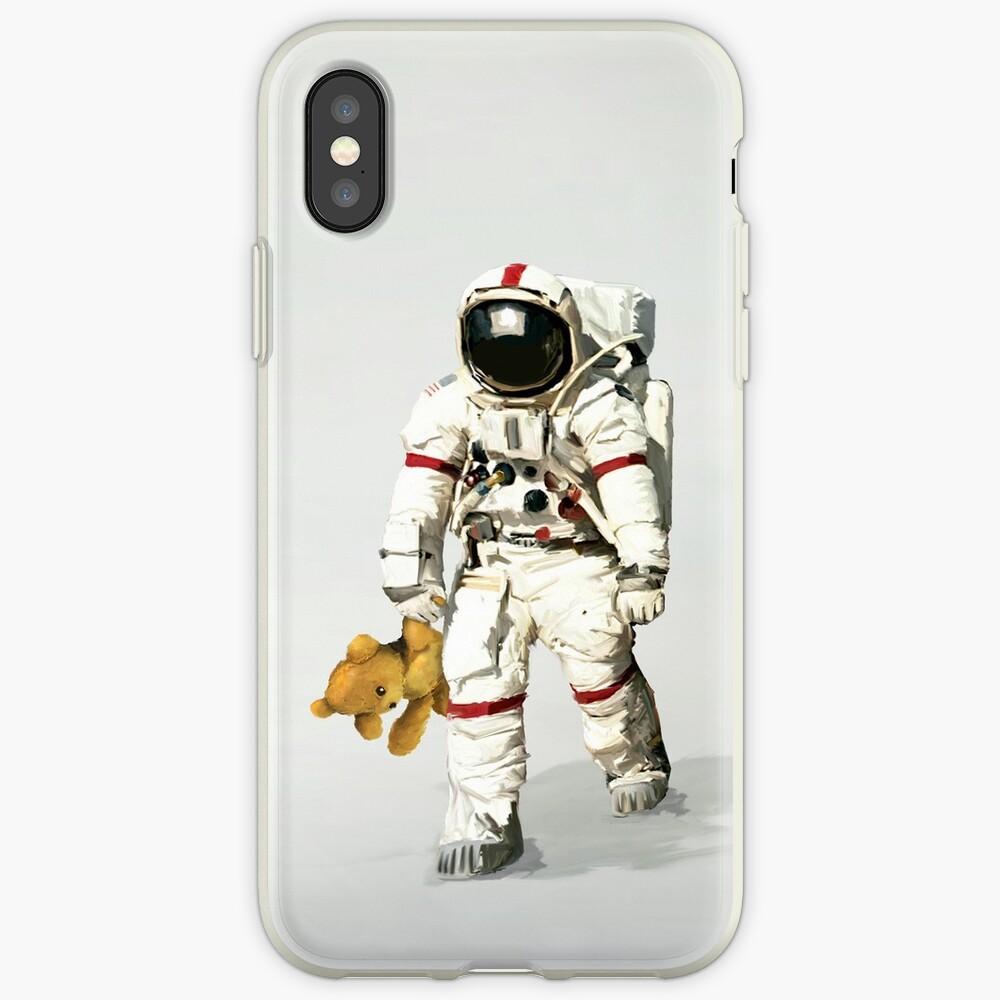 El espacio puede ser solitario Funda y vinilo para iPhone