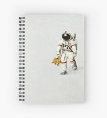 Space can be lonely Spiral Notebook
