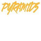 Discreetly Greek - Pyramids by integralapparel